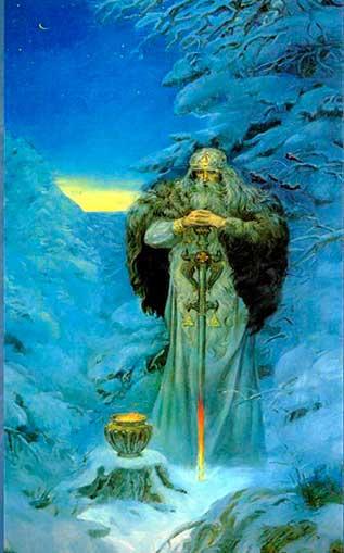 Сварог, он же - Уран - в представлении древниз славян